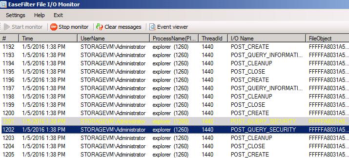 Windows 7 File IO Monitor 4.0.6.2 full